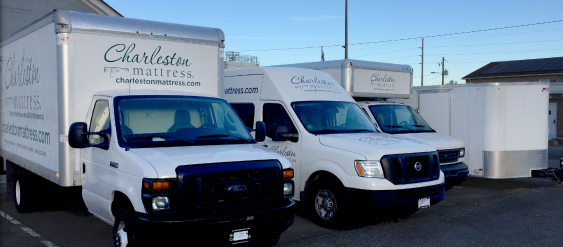 Mattress Delivery Trucks